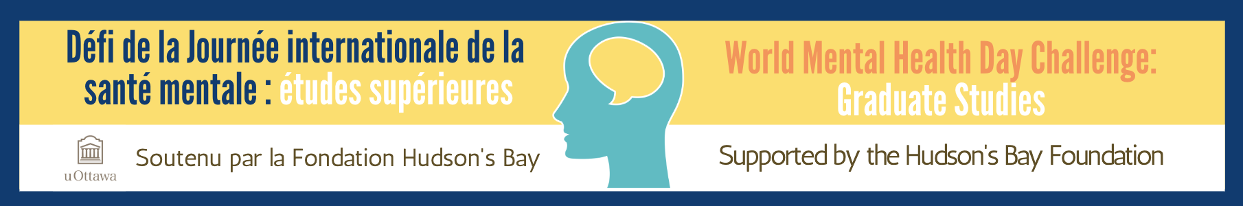 Défi de la Journée Internationale de la Santé Mentale